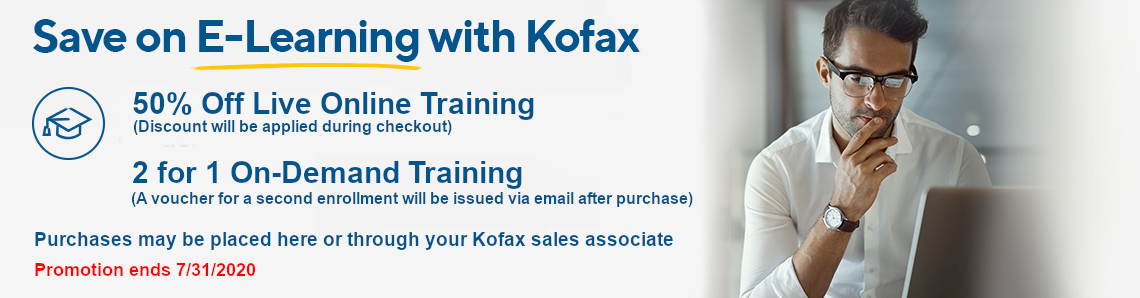 Kofax Education Promotion